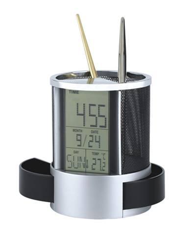 万年历笔筒时尚办公用品商务礼品定制LOGO RD-833603